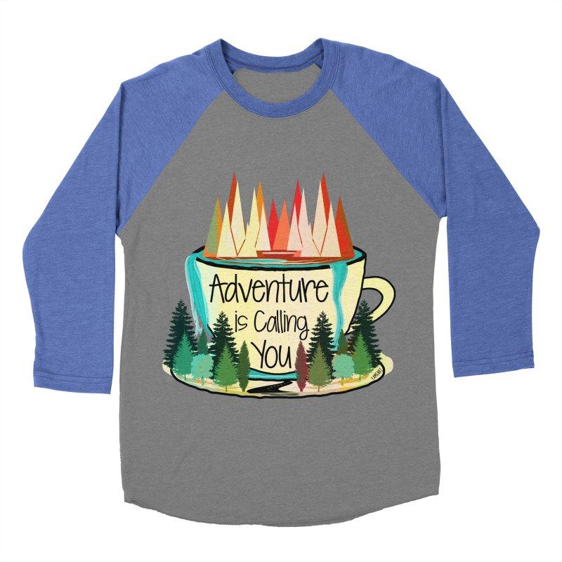 Adventure Is Calling Men's Baseball Triblend T-Shirt by Famenxt