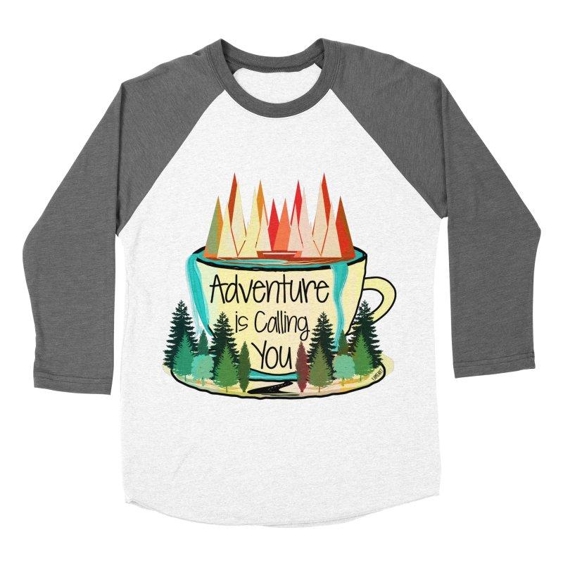 Adventure Is Calling Men's Baseball Triblend Longsleeve T-Shirt by Famenxt