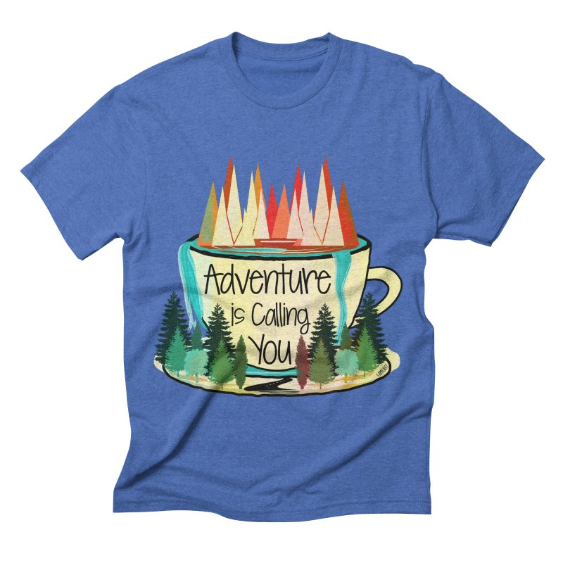 Adventure Is Calling Men's Triblend T-shirt by Famenxt