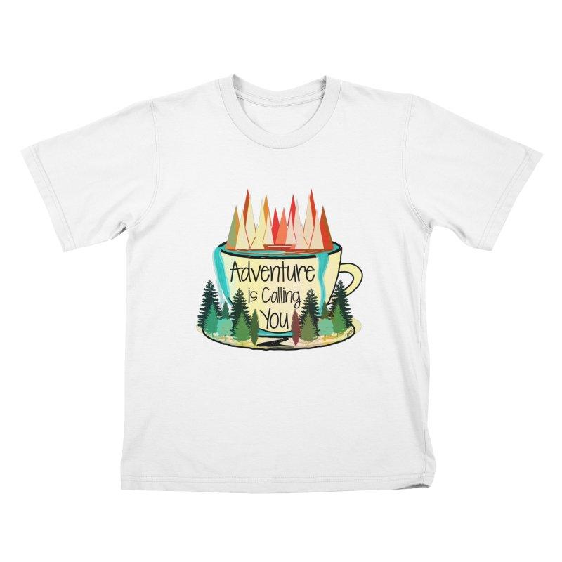 Adventure Is Calling Kids T-Shirt by Famenxt