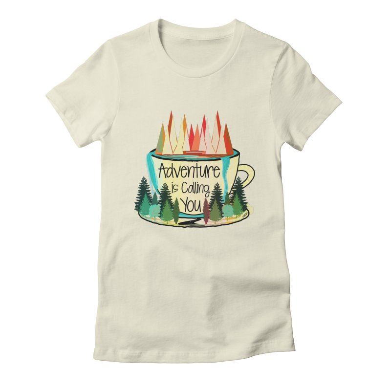 Adventure Is Calling Women's Fitted T-Shirt by Famenxt