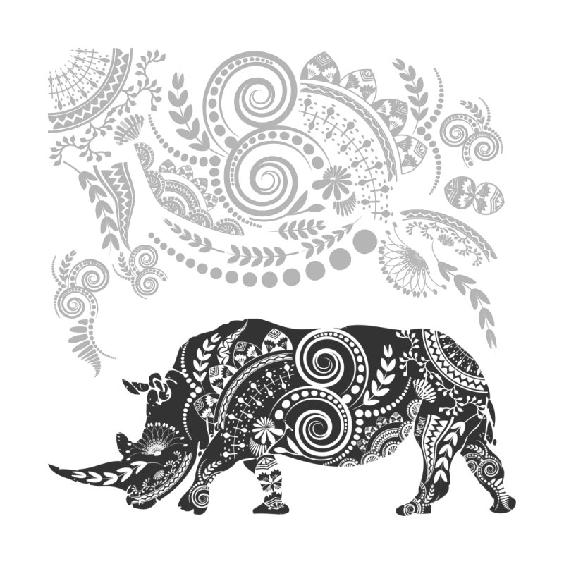 Ornamental Rhino by Famenxt