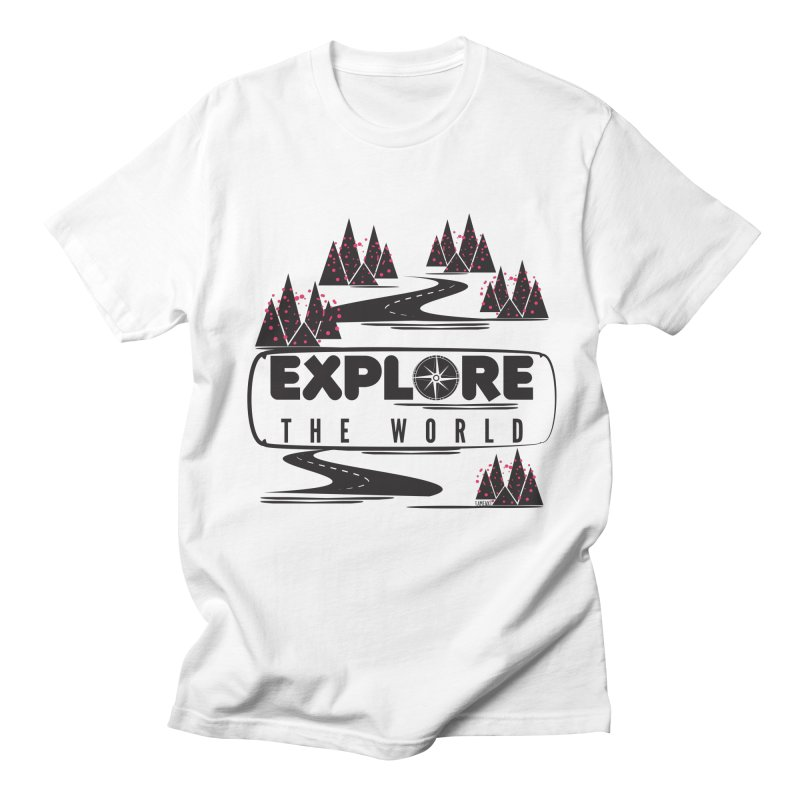 Explore the World Men's Regular T-Shirt by Famenxt