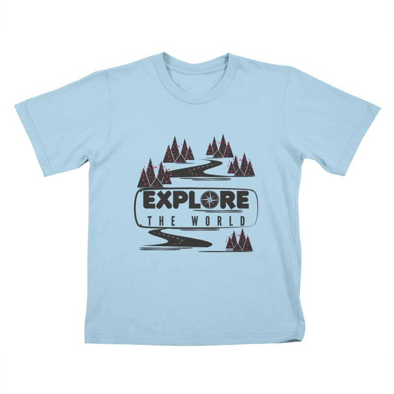 Explore the World Kids T-Shirt by Famenxt