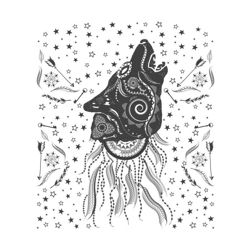 Bohemian Wolf Women's T-Shirt by Famenxt