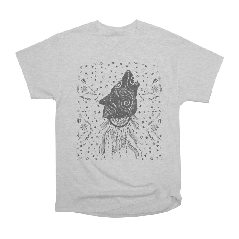 Bohemian Wolf Women's Heavyweight Unisex T-Shirt by Famenxt