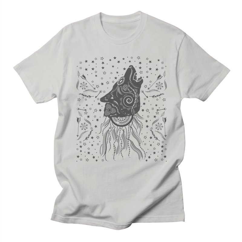 Bohemian Wolf Men's T-shirt by Famenxt