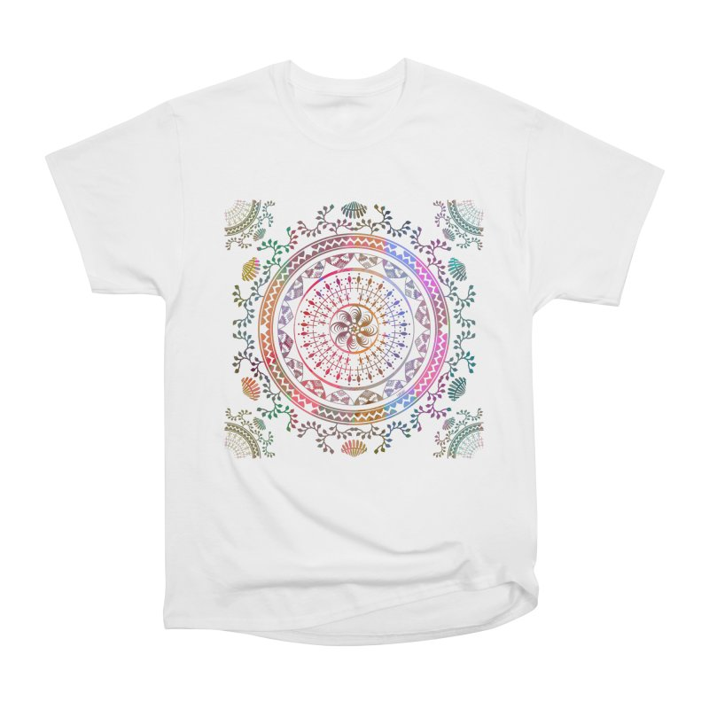 Mandala Women's Heavyweight Unisex T-Shirt by Famenxt