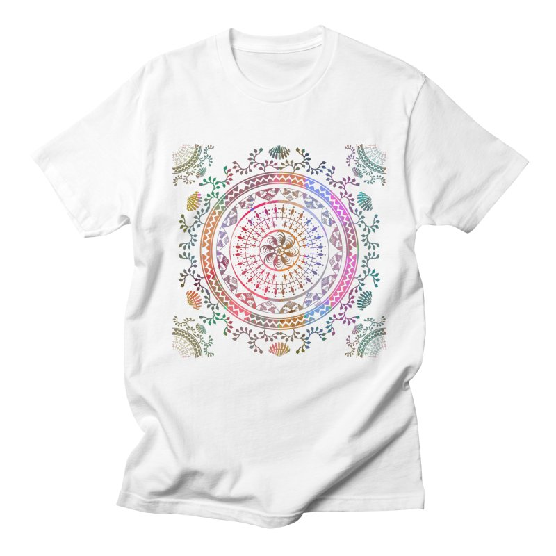 Mandala Men's Regular T-Shirt by Famenxt