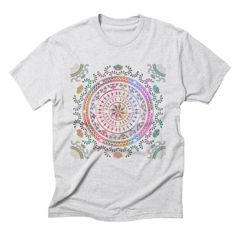 Mandala Men's Triblend T-Shirt by Famenxt