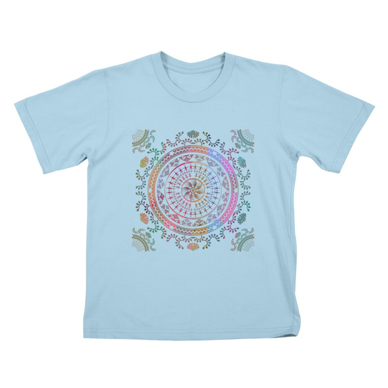 Mandala Kids T-Shirt by Famenxt