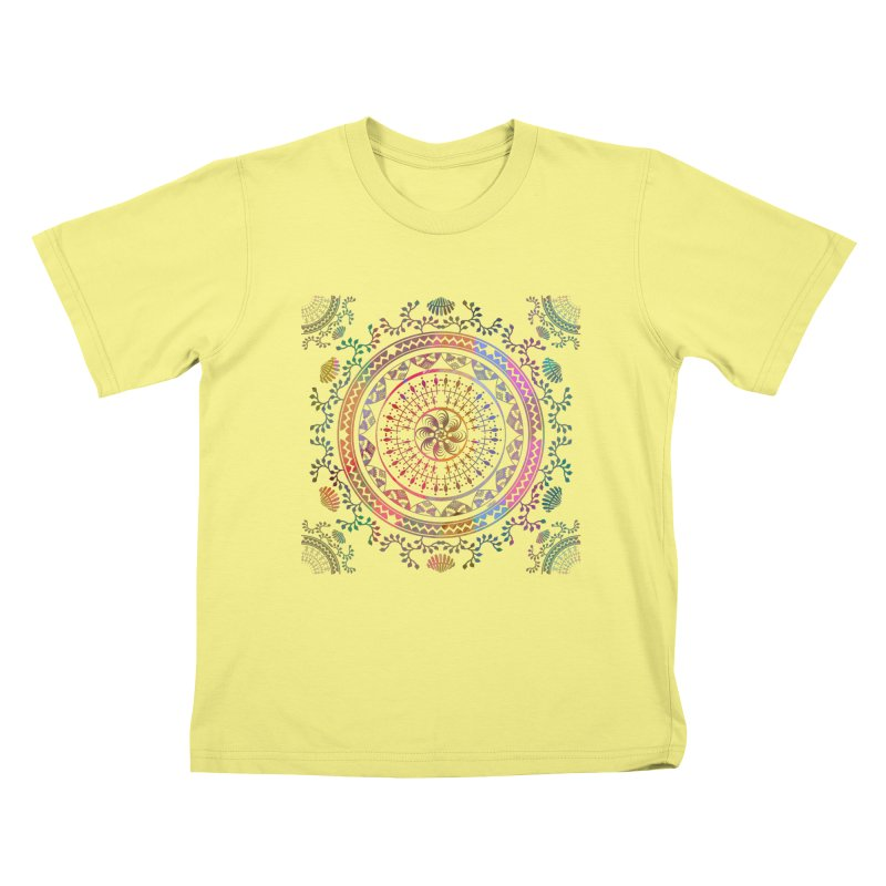 Mandala Kids T-shirt by Famenxt