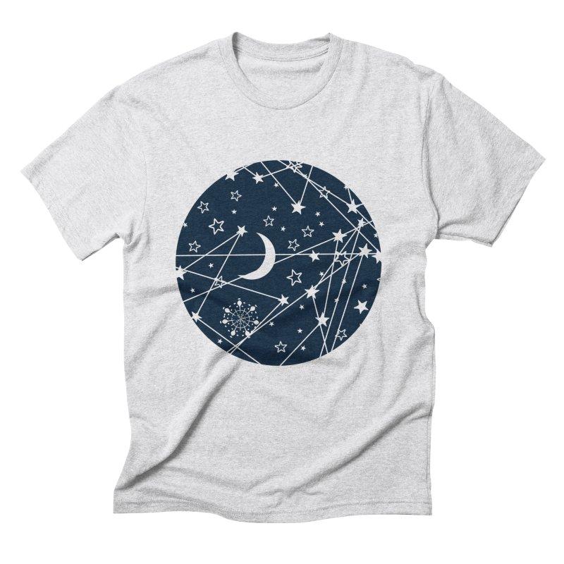 My Space Men's Triblend T-Shirt by Famenxt
