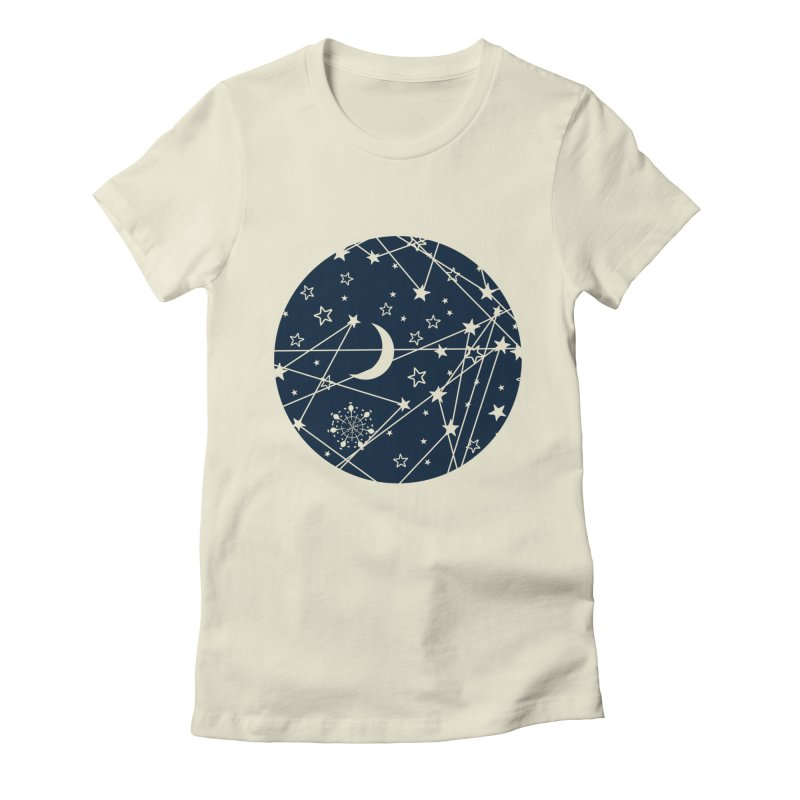 My Space Women's Fitted T-Shirt by Famenxt