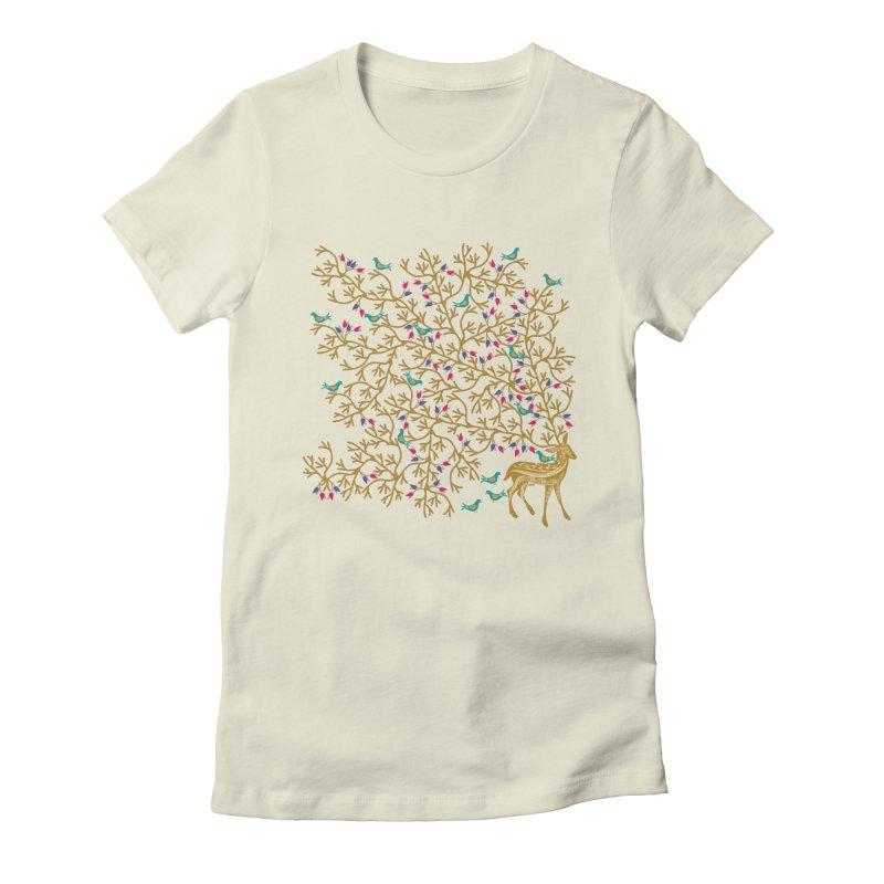 Beautiful Burden Women's Fitted T-Shirt by Famenxt