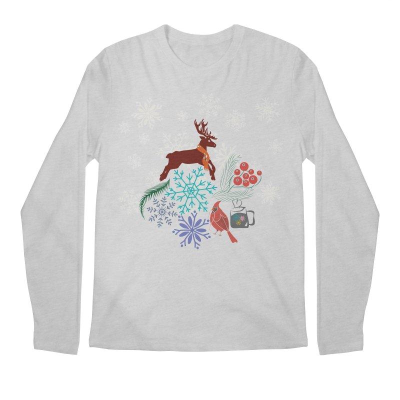 Winter Vibes Men's Longsleeve T-Shirt by Famenxt