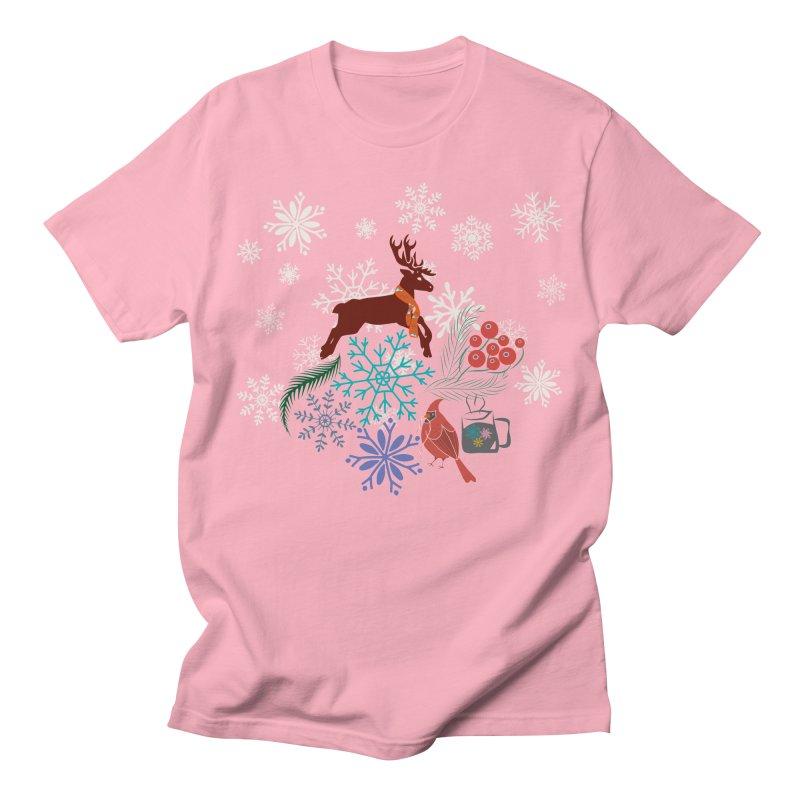 Winter Vibes Men's T-Shirt by Famenxt