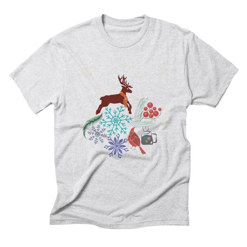 Winter Vibes Men's Triblend T-Shirt by Famenxt