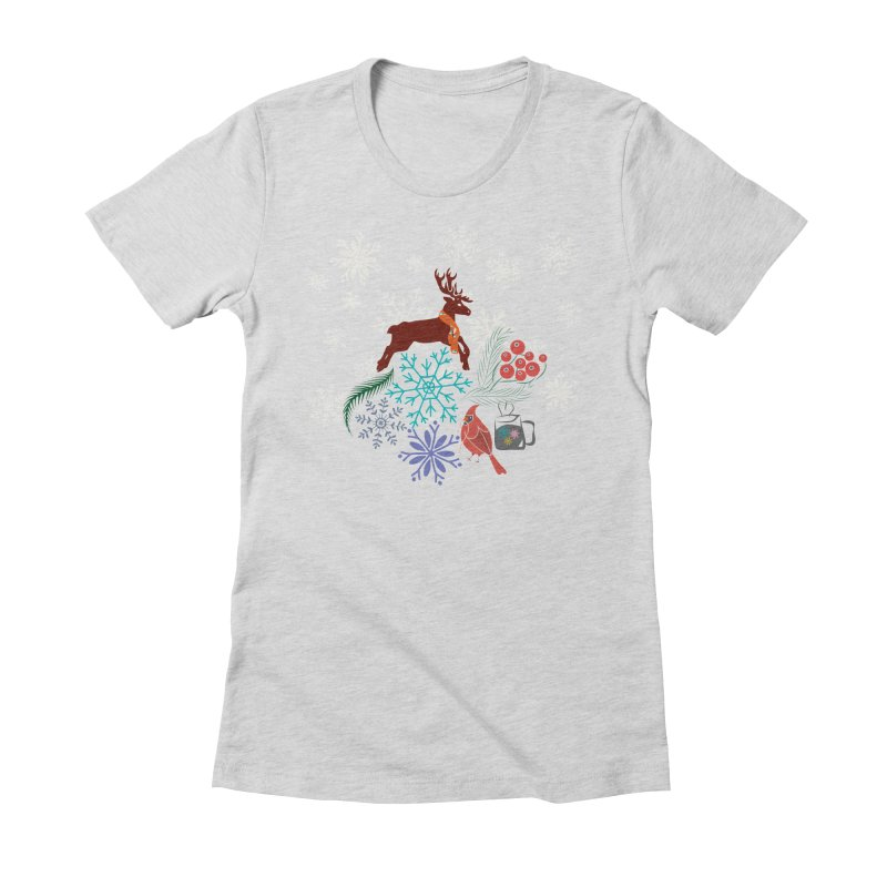 Winter Vibes Women's T-Shirt by Famenxt