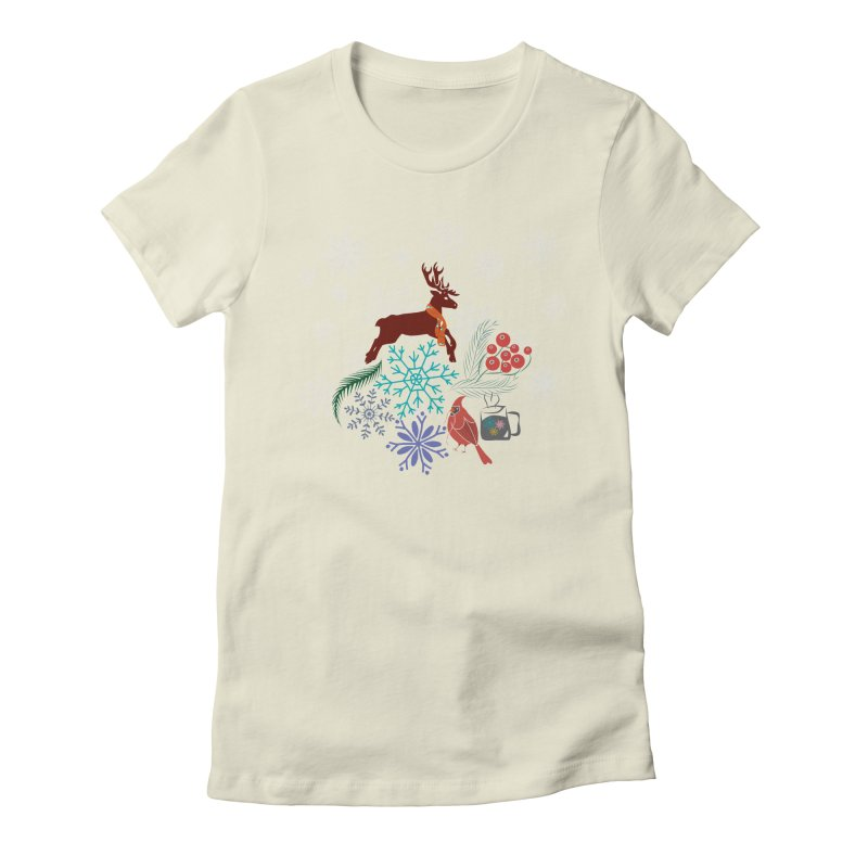 Winter Vibes Women's T-Shirt by Famenxt
