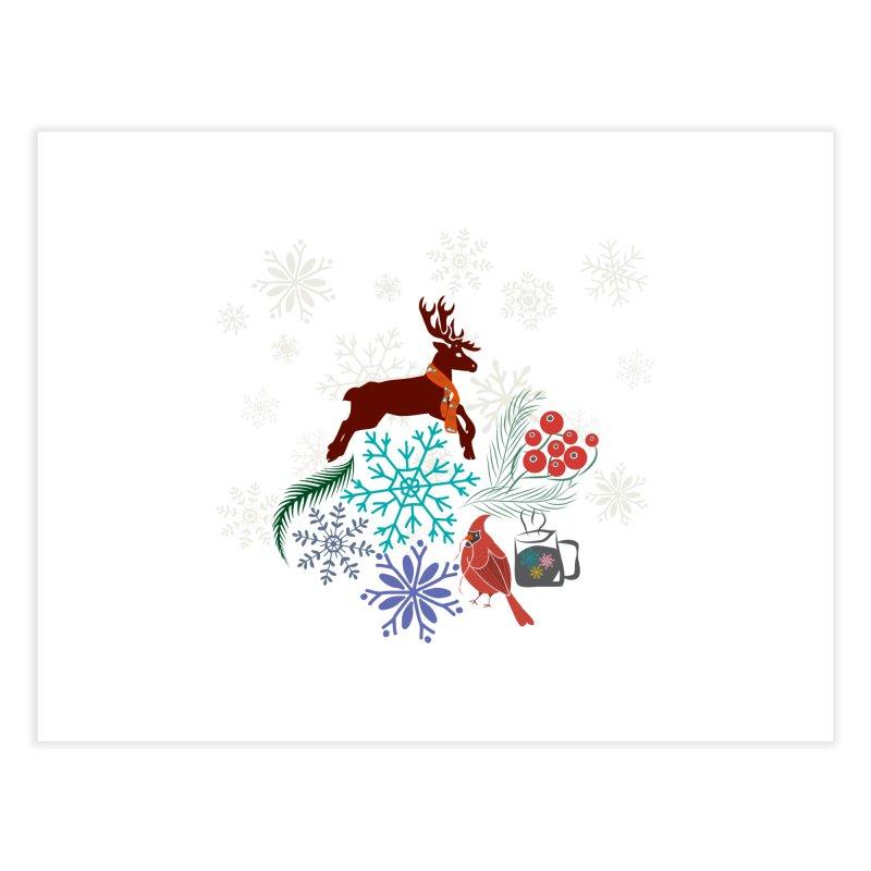 Winter Vibes Home Fine Art Print by Famenxt