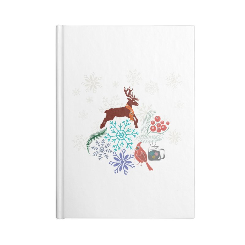 Winter Vibes Accessories Notebook by Famenxt