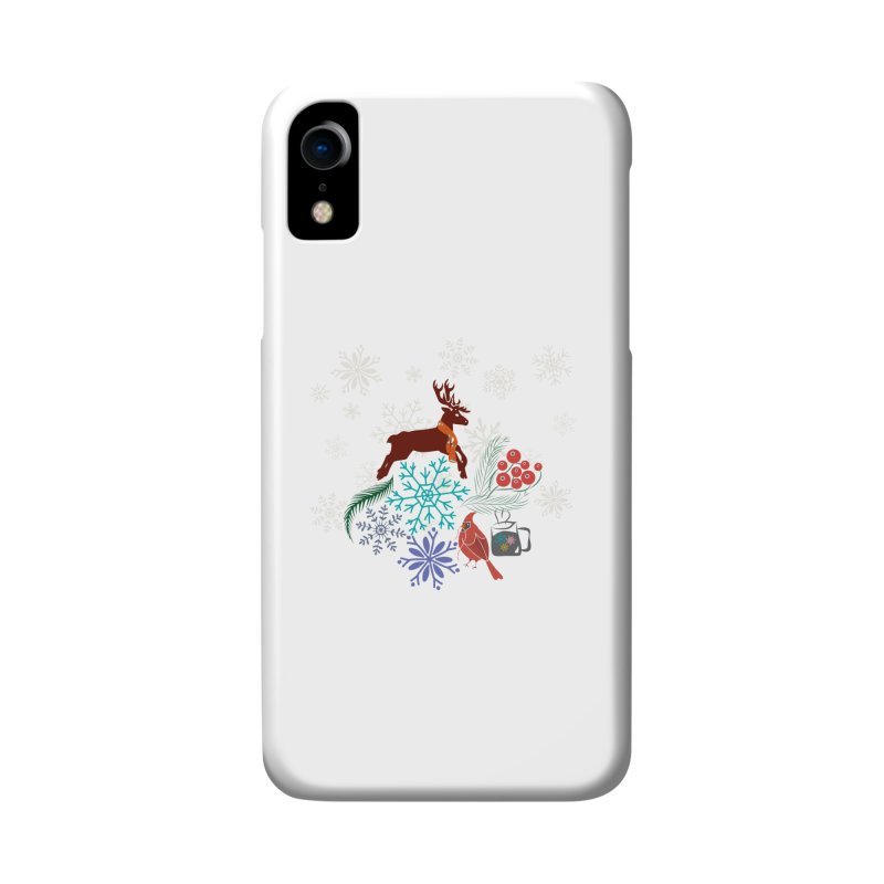 Winter Vibes Accessories Phone Case by Famenxt