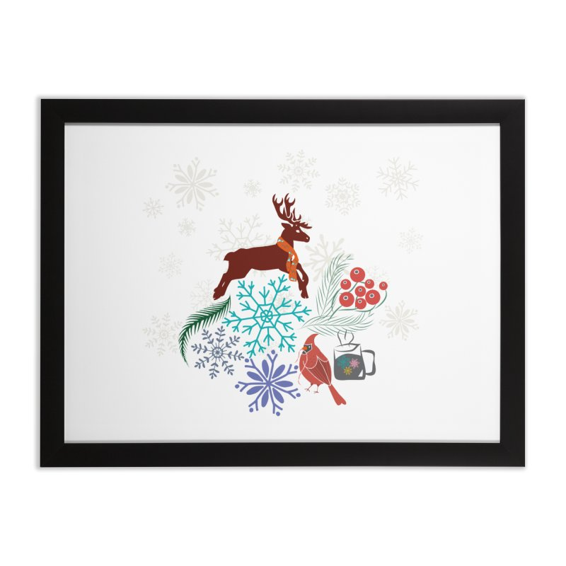 Winter Vibes Home Framed Fine Art Print by Famenxt
