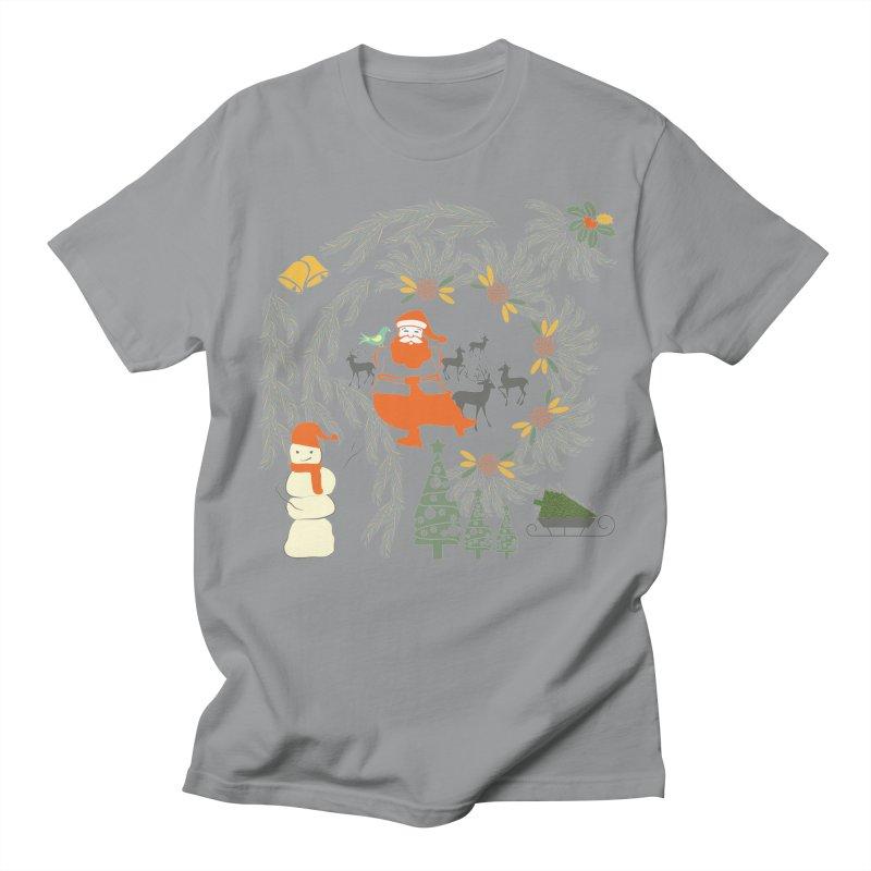 Joyous Christmas Men's Regular T-Shirt by Famenxt