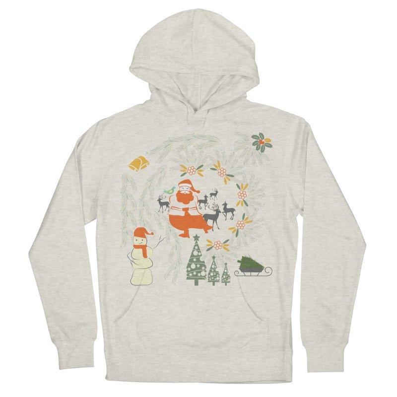 Joyous Christmas Men's Pullover Hoody by Famenxt
