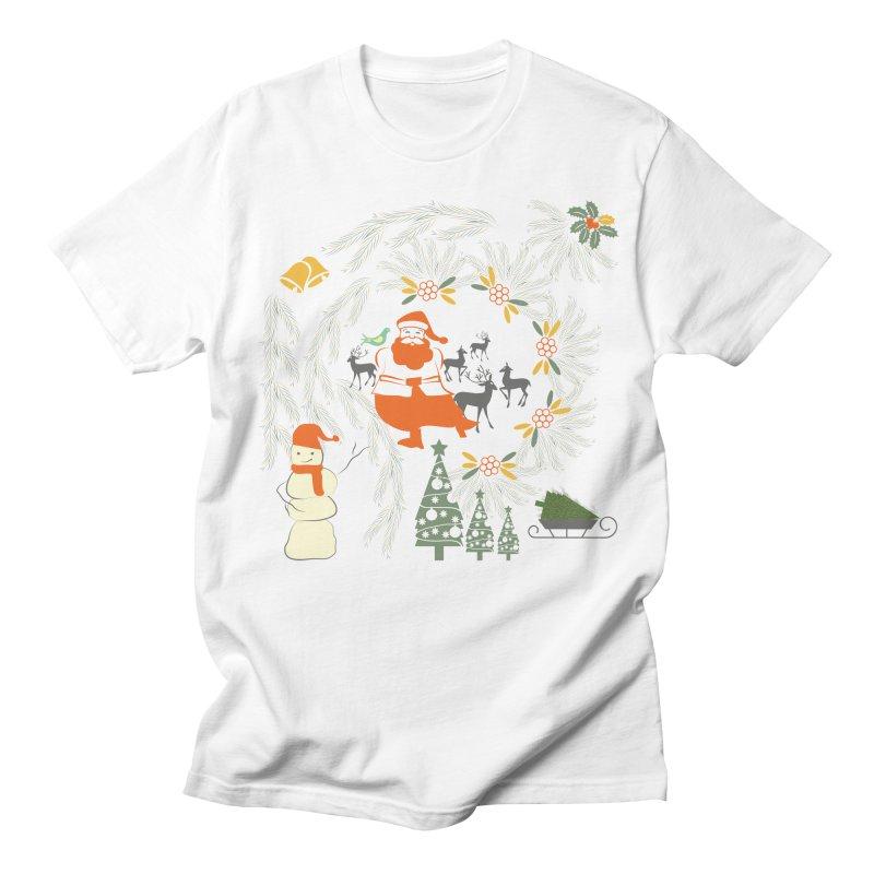 Joyous Christmas Women's Regular Unisex T-Shirt by Famenxt