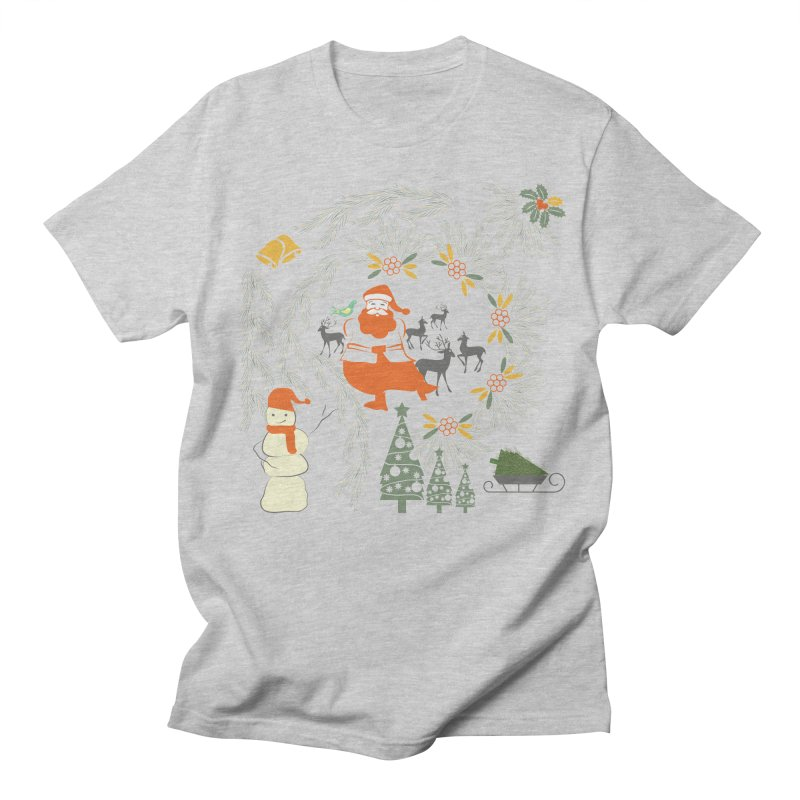 Joyous Christmas Women's Regular Unisex T-Shirt by Famenxt