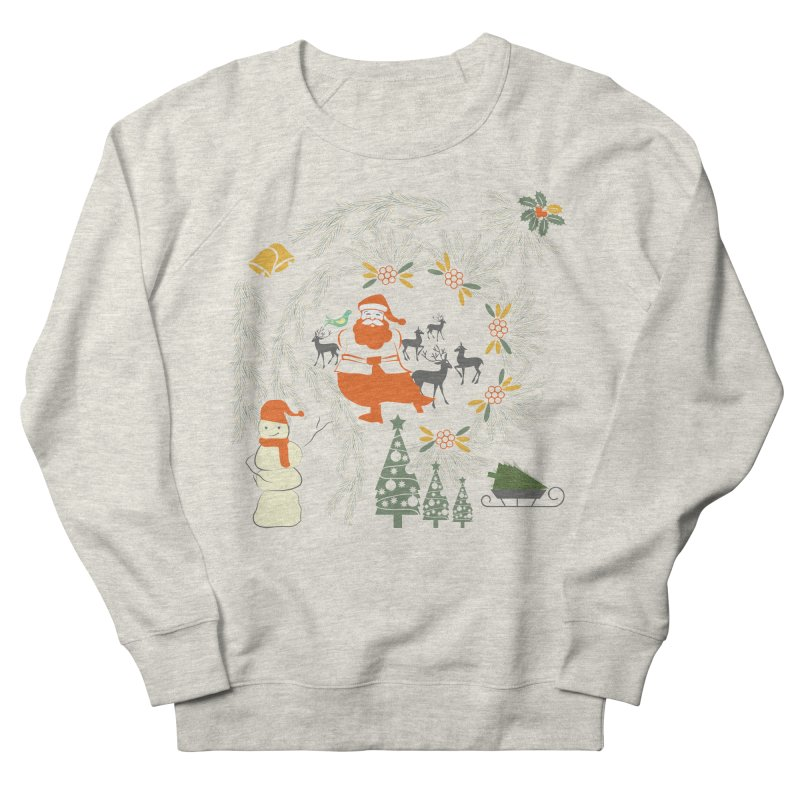 Joyous Christmas Women's Sweatshirt by Famenxt