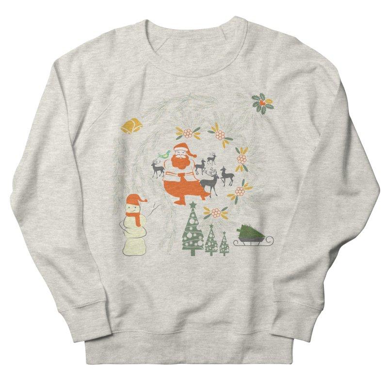 Joyous Christmas Men's French Terry Sweatshirt by Famenxt