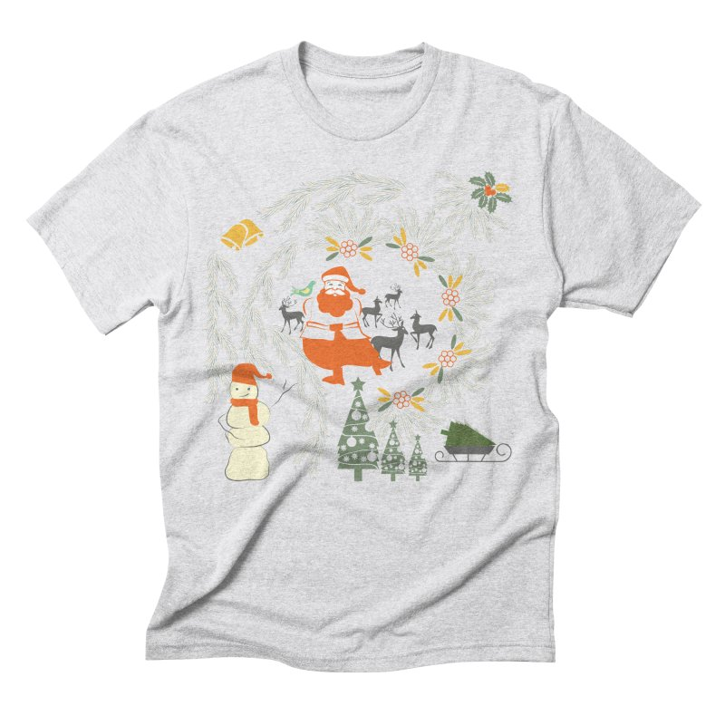 Joyous Christmas Men's Triblend T-Shirt by Famenxt