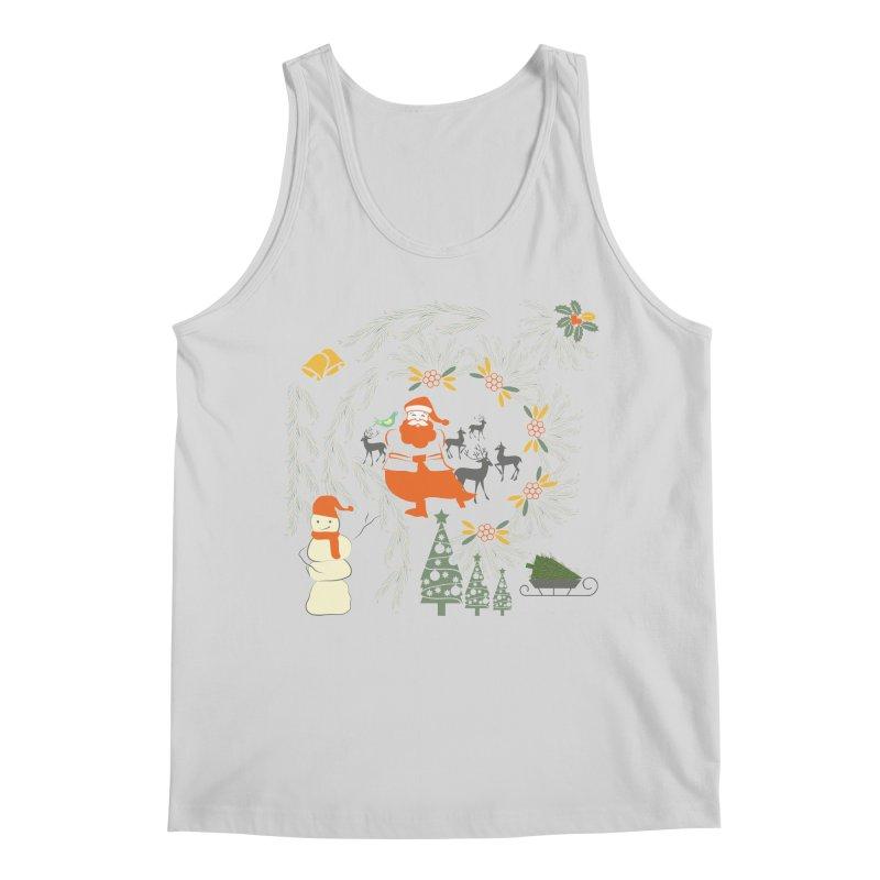 Joyous Christmas Men's Regular Tank by Famenxt