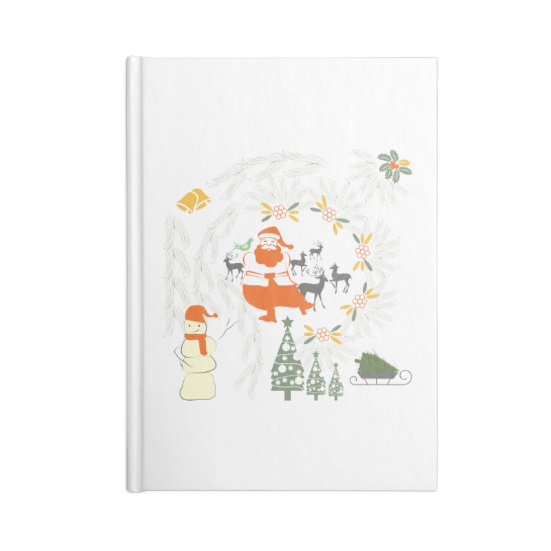 Joyous Christmas Accessories Notebook by Famenxt