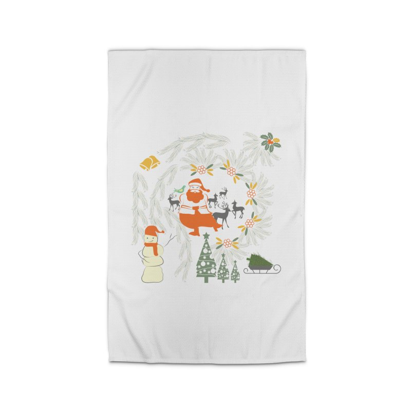 Joyous Christmas Home Rug by Famenxt