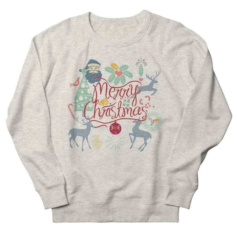 Merry Christmas Women's Sweatshirt by Famenxt