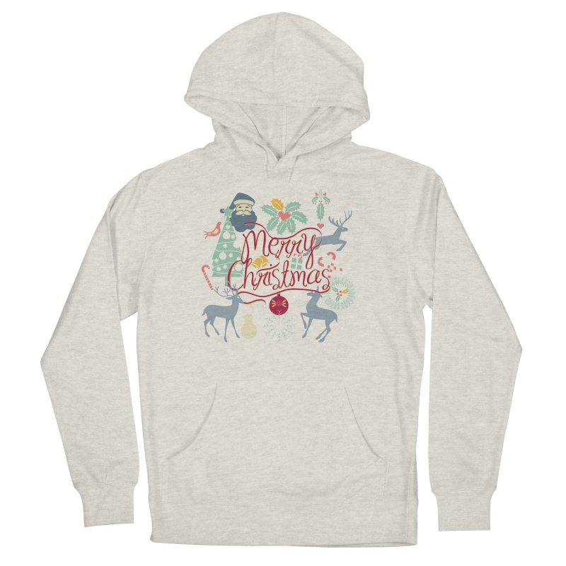 Merry Christmas Men's Pullover Hoody by Famenxt