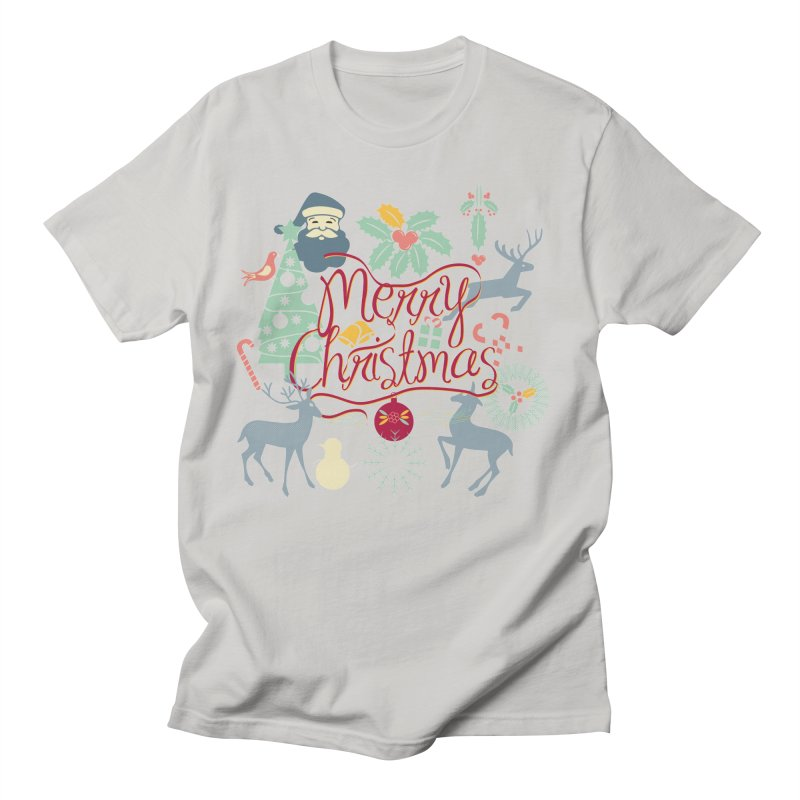 Merry Christmas Men's T-Shirt by Famenxt