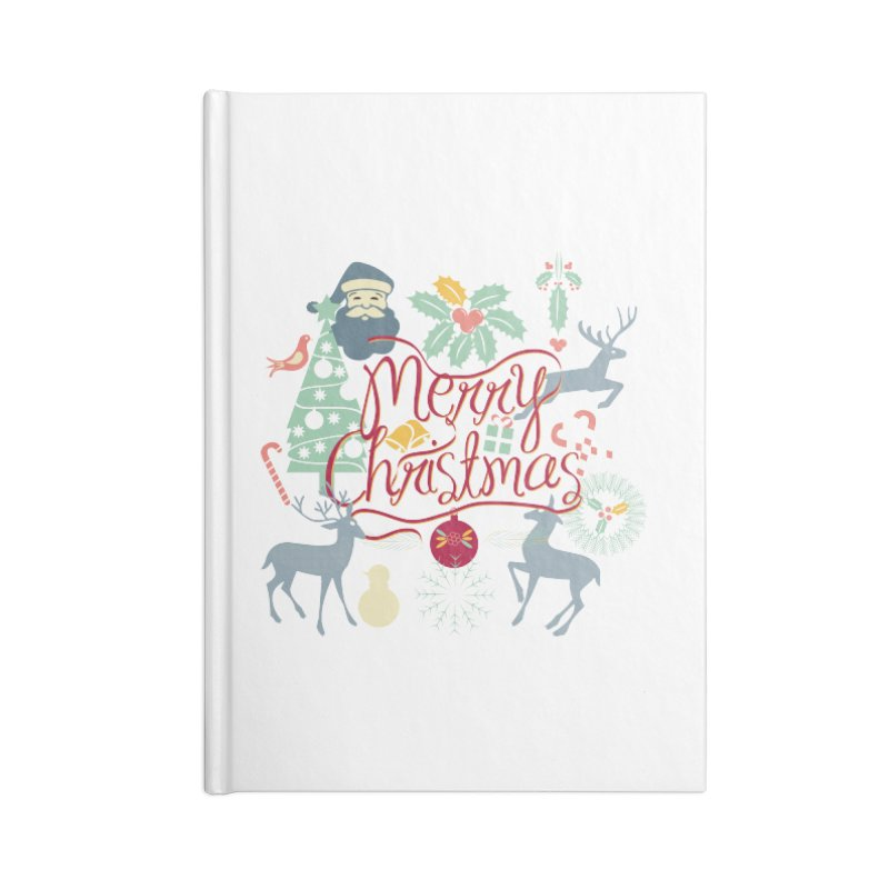 Merry Christmas Accessories Notebook by Famenxt