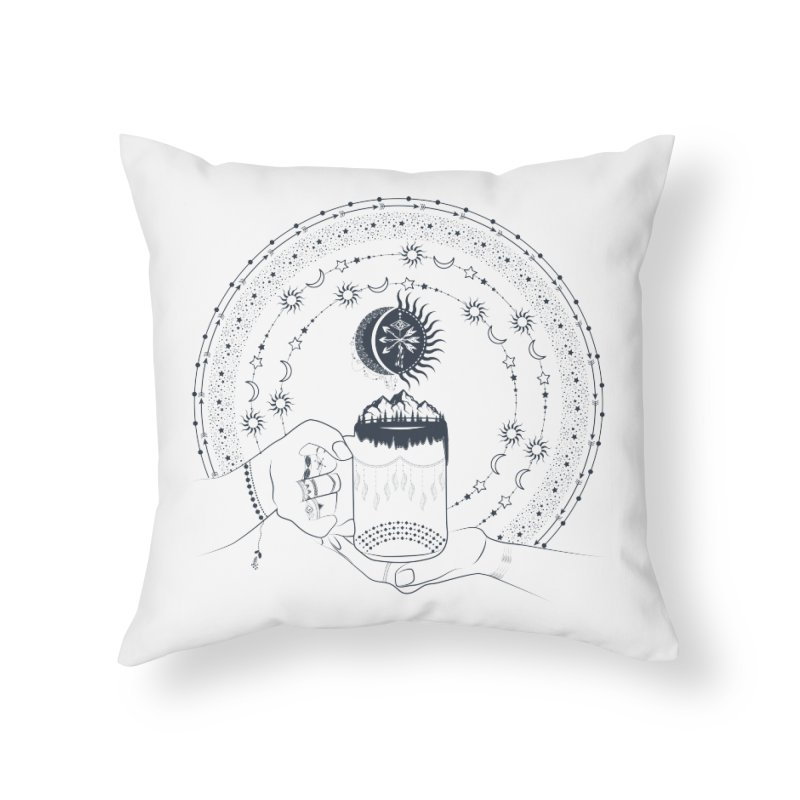 My Bohemian World from my15bohemianart Collection Home Throw Pillow by Famenxt