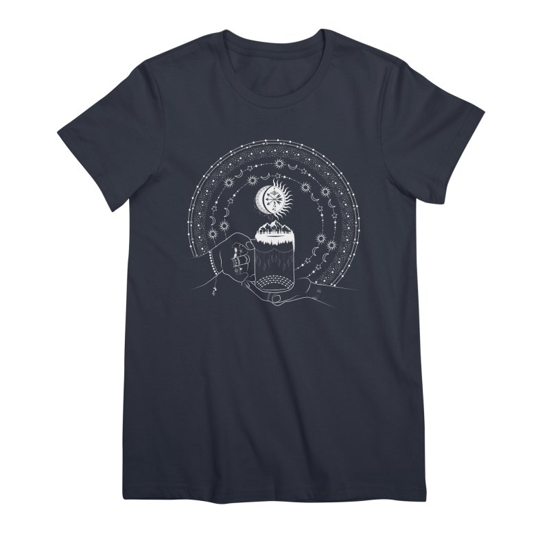 My Bohemian World from my15bohemianart Collection Women's Premium T-Shirt by Famenxt