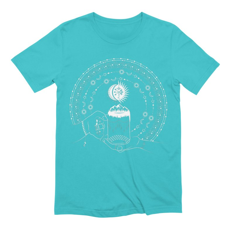 My Bohemian World from my15bohemianart Collection Men's Extra Soft T-Shirt by Famenxt