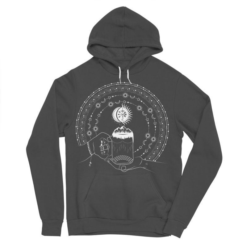 My Bohemian World from my15bohemianart Collection Women's Sponge Fleece Pullover Hoody by Famenxt