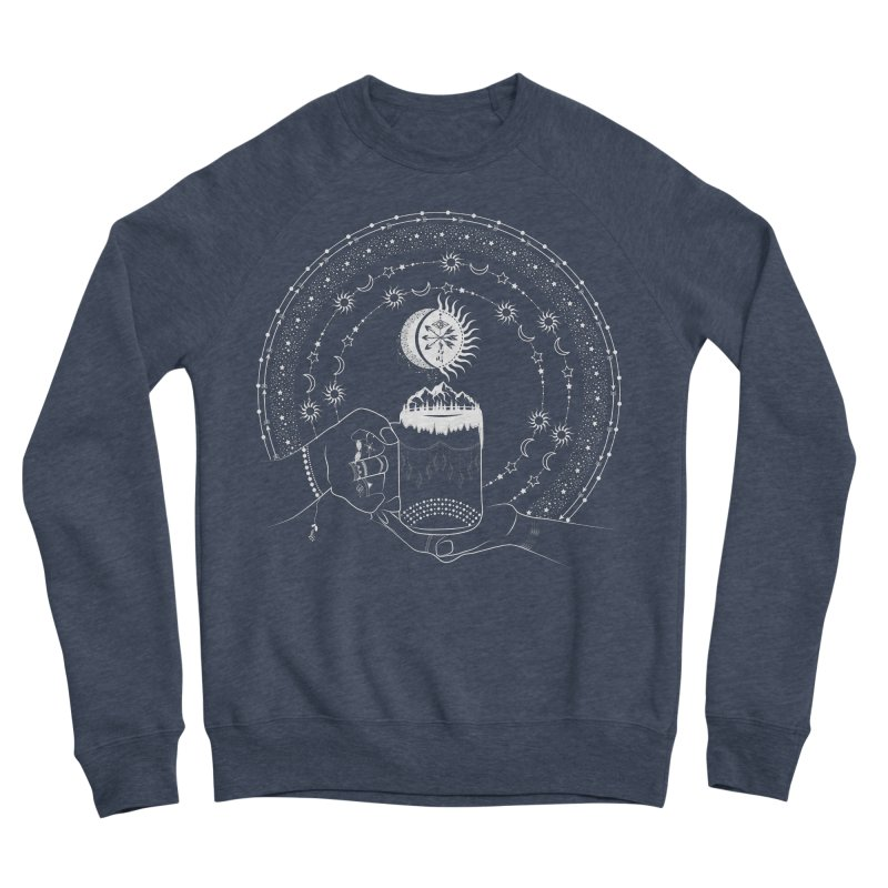 My Bohemian World from my15bohemianart Collection Women's Sponge Fleece Sweatshirt by Famenxt