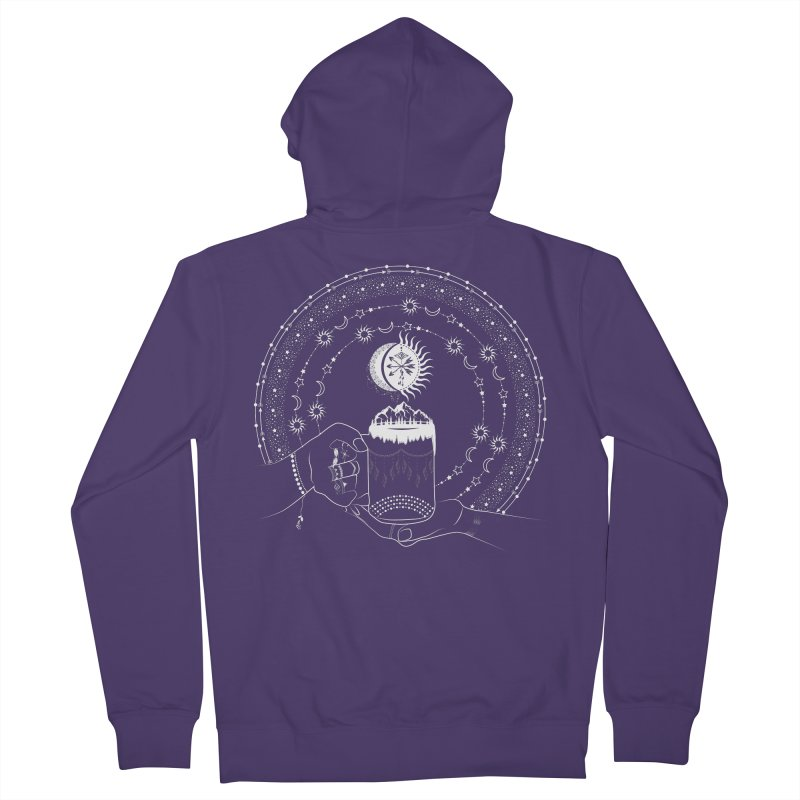 My Bohemian World from my15bohemianart Collection Women's Zip-Up Hoody by Famenxt