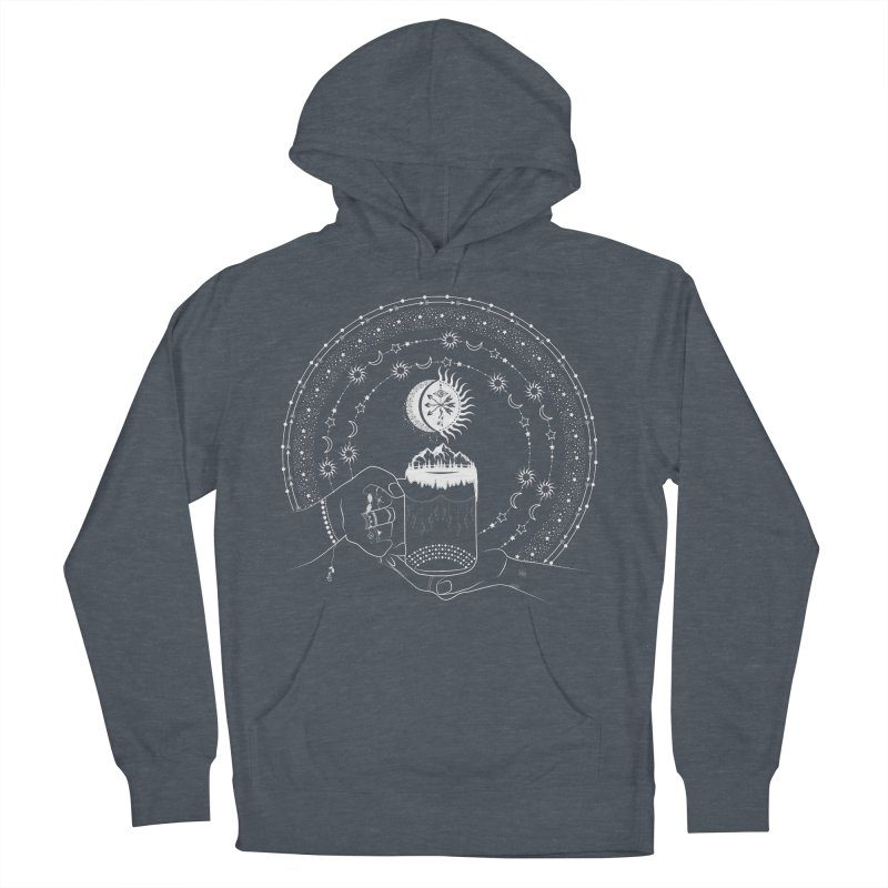 My Bohemian World from my15bohemianart Collection Women's French Terry Pullover Hoody by Famenxt