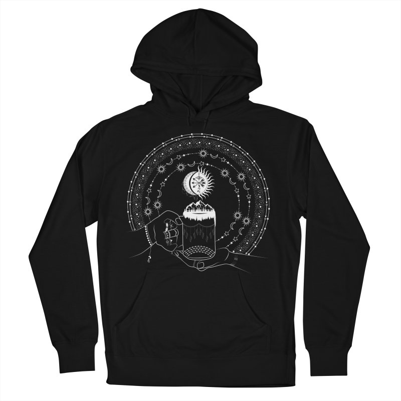 My Bohemian World from my15bohemianart Collection Men's French Terry Pullover Hoody by Famenxt